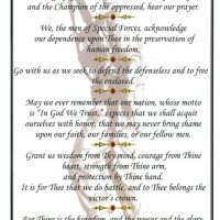 Special Forces Prayer